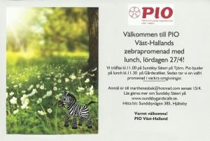 Zebrapromenad PIO Vast Halland