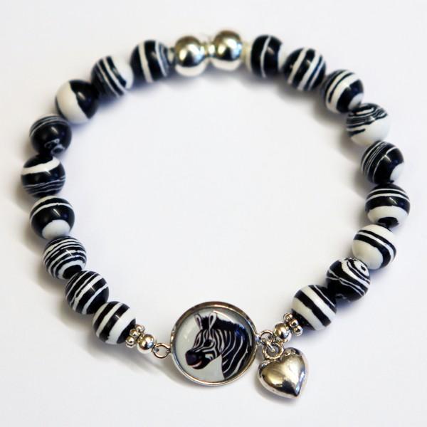 Armband Zebra_stor