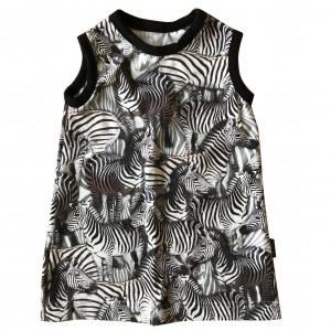 Klanning, zebror i flock