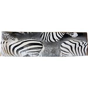 Hårband zebror svart/vita