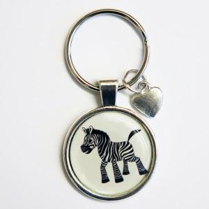 Nyckelring_zebra_liten
